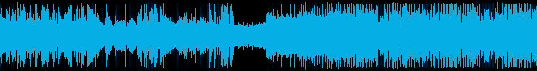 変則ギターロック的な戦闘BGMの再生済みの波形