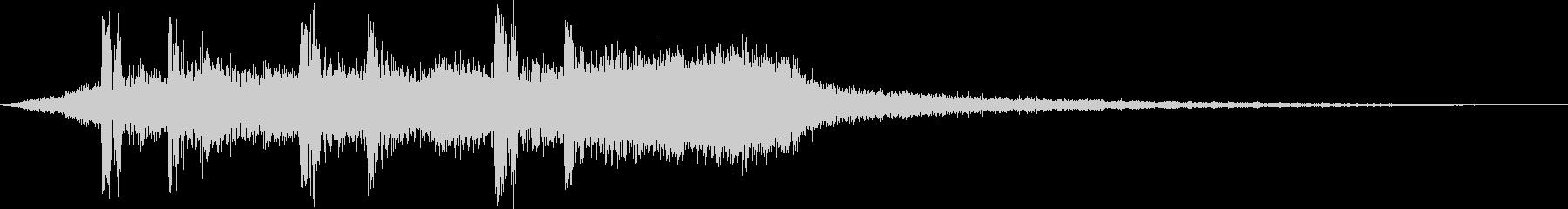 オープニング用サウンドロゴ31(生命)の未再生の波形