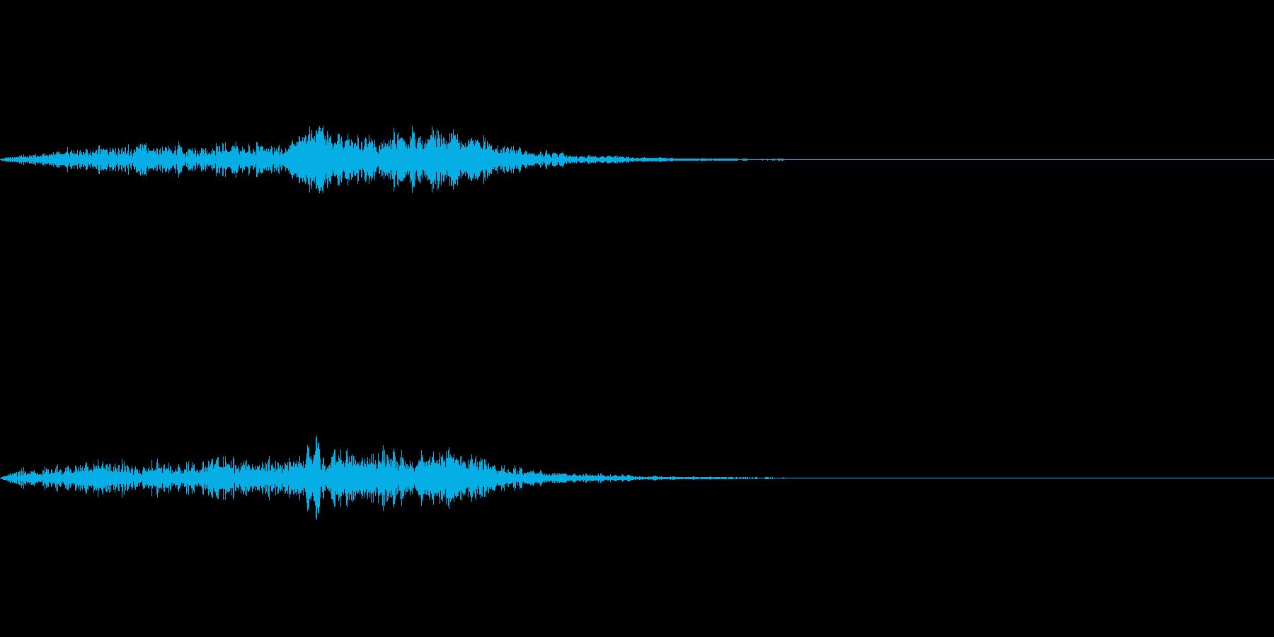 「象の鳴き声みたいなブラス音」の再生済みの波形