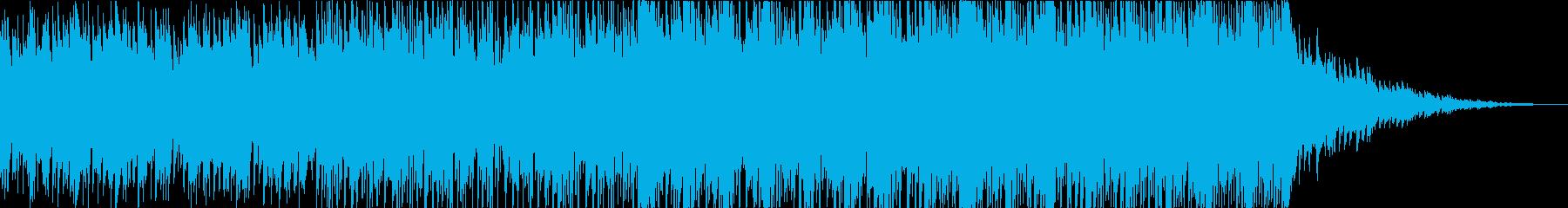 【サントラ・CM】深海を歩くBGMの再生済みの波形
