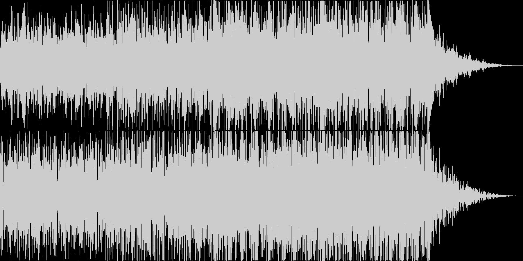 深海をイメージしたサントラ・映像向け楽曲の未再生の波形