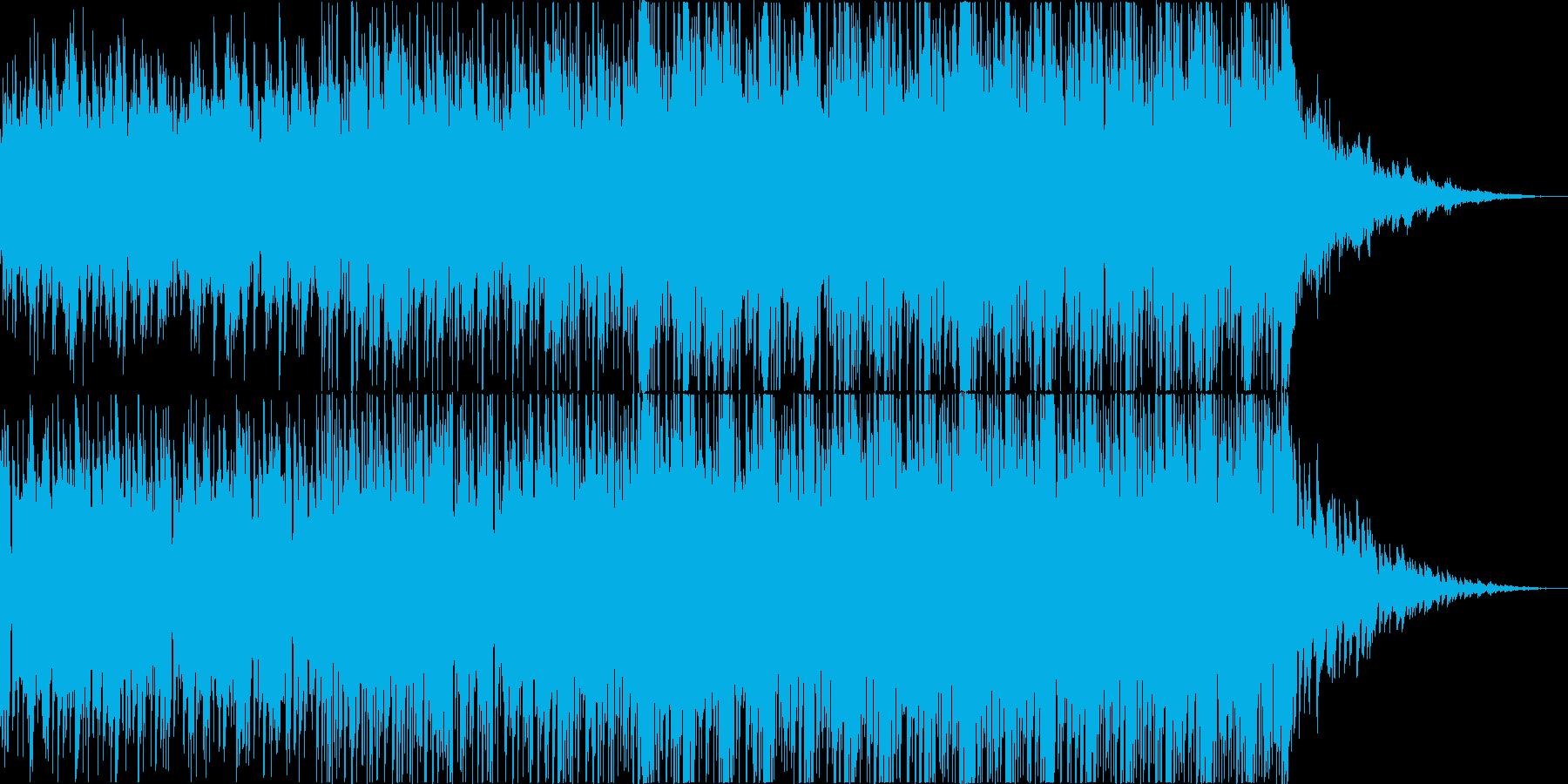 深海をイメージしたサントラ・映像向け楽曲の再生済みの波形
