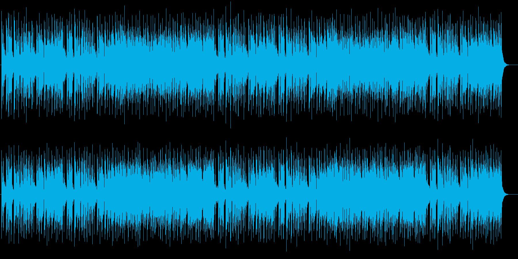爽やかで軽やかなストリングスポップの再生済みの波形