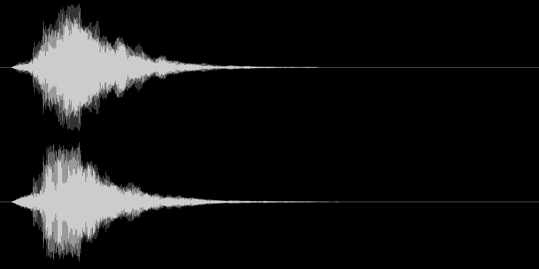 ピ!8bit系の決定/ボタン/クリック3の未再生の波形