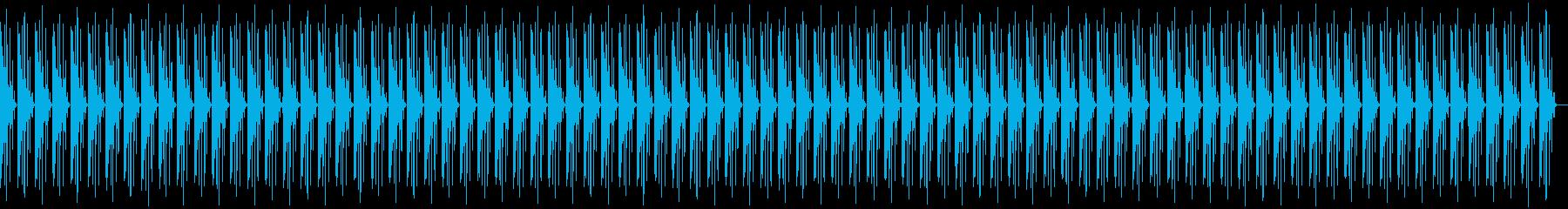ほのぼのした雰囲気のビートの再生済みの波形
