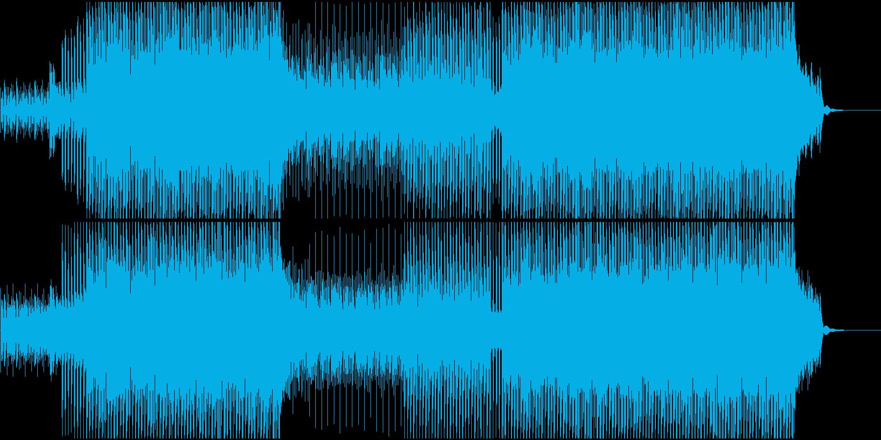 CMやVPに ピアノ爽やかオープニング系の再生済みの波形