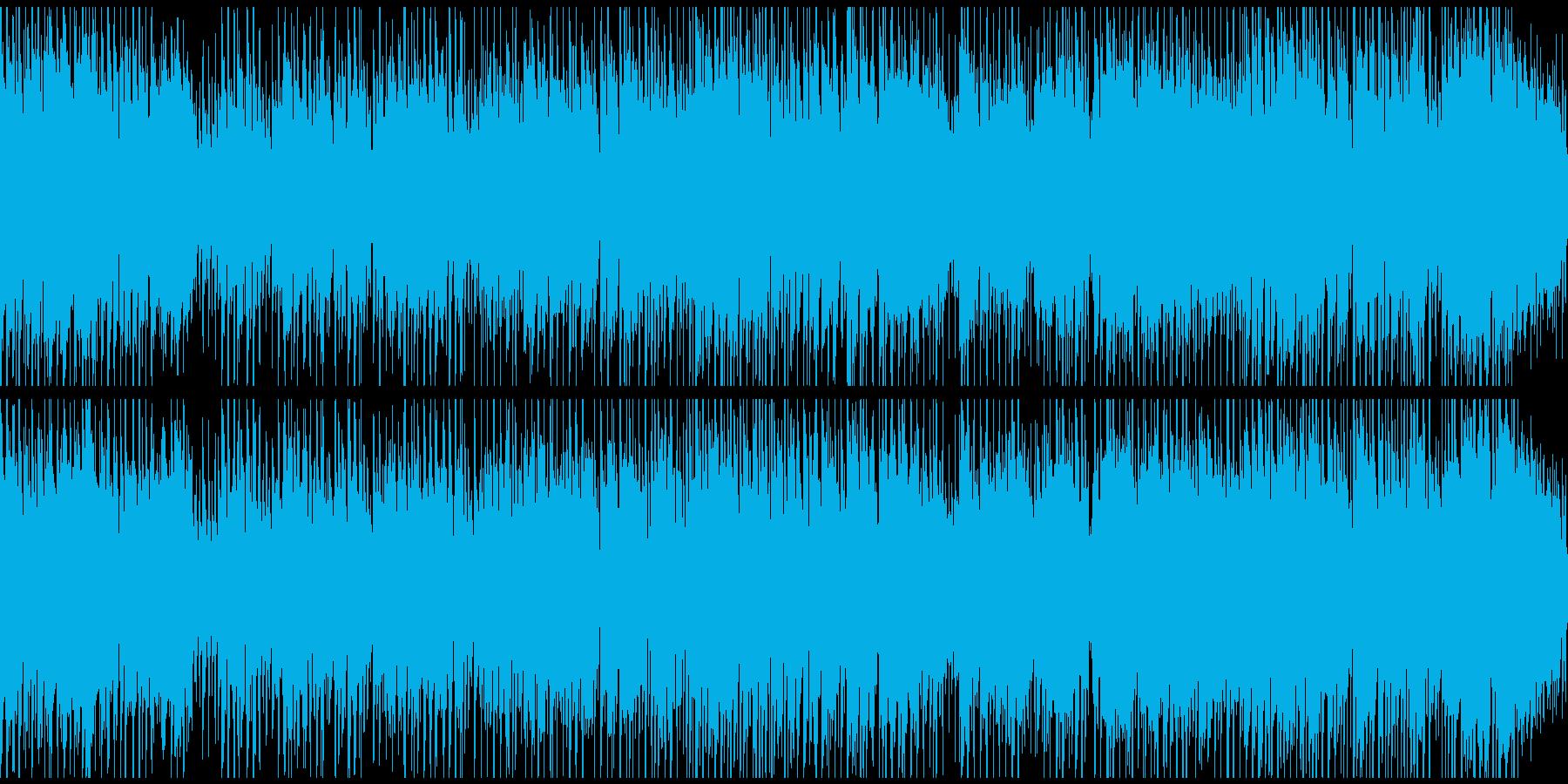 楽しいディスコ風味ジャズ! ※ループ版の再生済みの波形