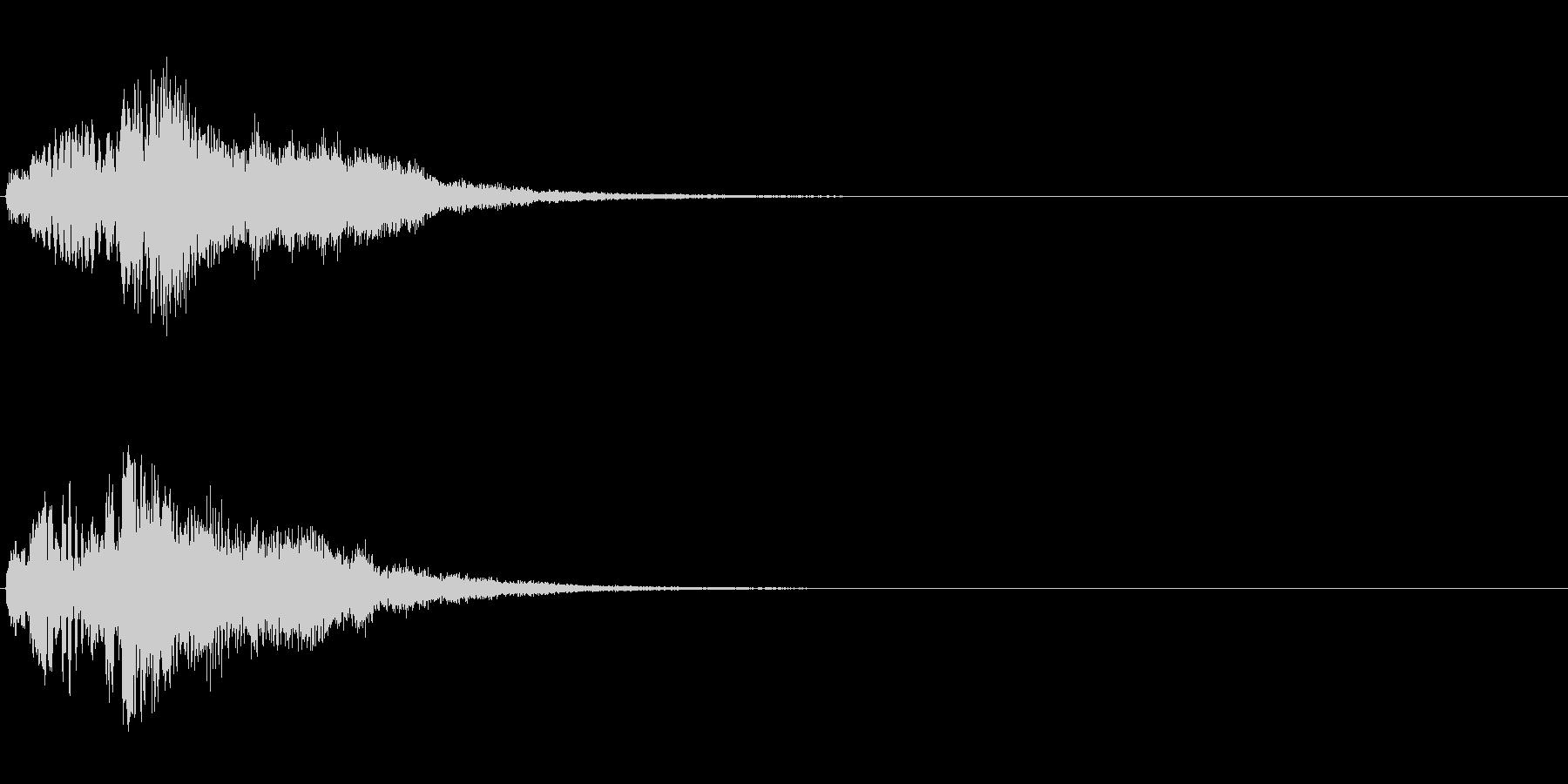 ハープ・上昇_1-2の未再生の波形