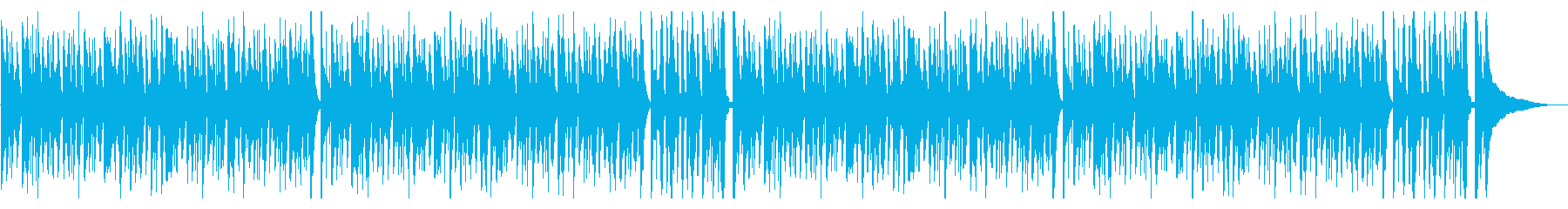 Heartwarming cute and blurry feeling's reproduced waveform