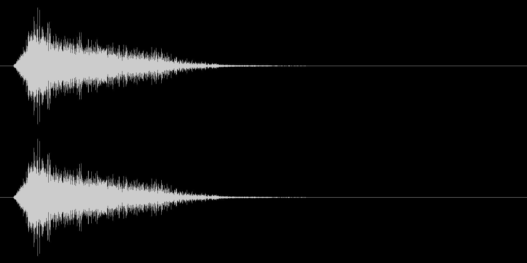 エンカウント/遭遇/戦闘開始の未再生の波形