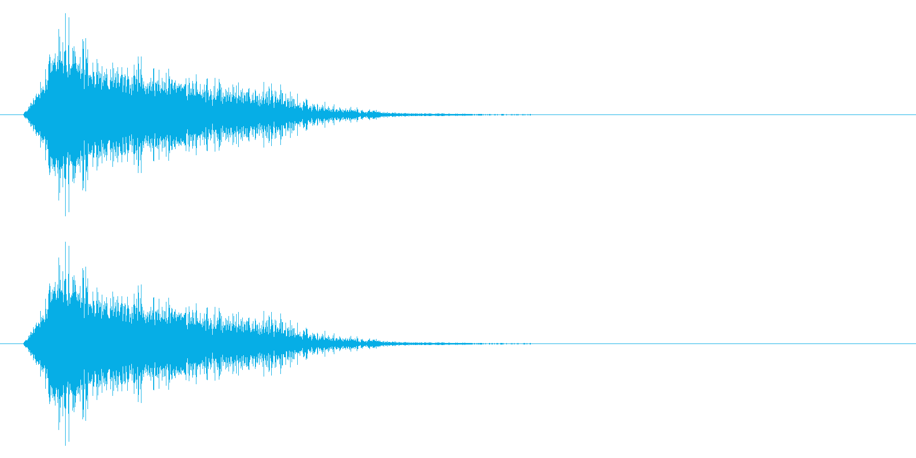エンカウント/遭遇/戦闘開始の再生済みの波形