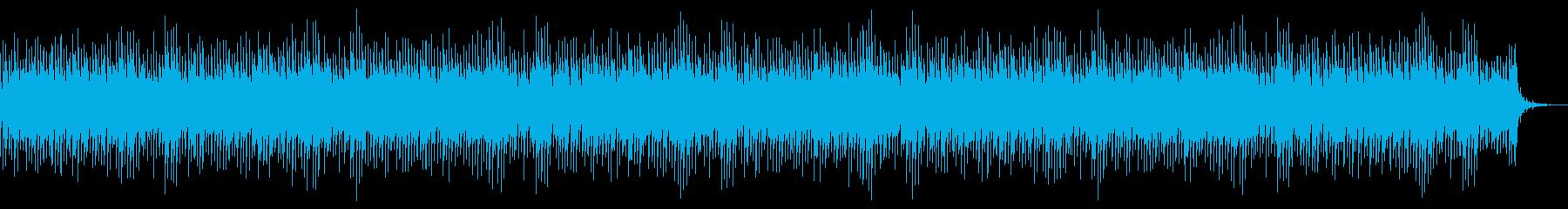 [ニュース報道]無機質:フラット:12の再生済みの波形