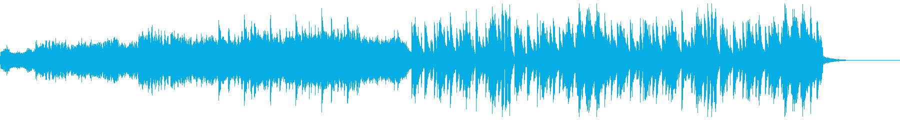 かわいい感じの変則ビートの再生済みの波形