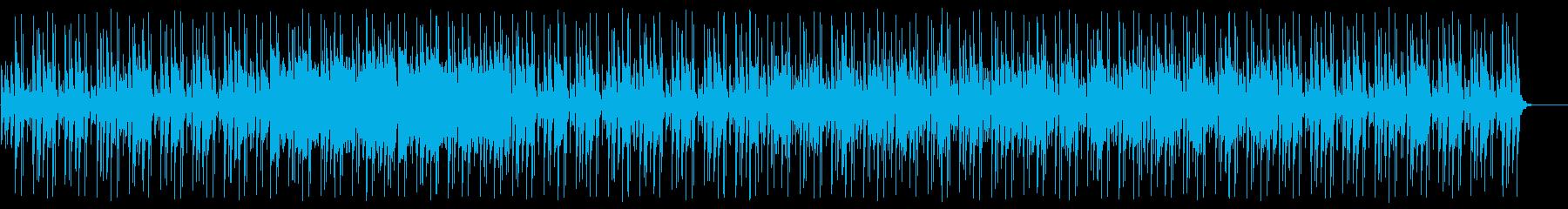 夏らしくトロピカルで楽しい南国曲の再生済みの波形