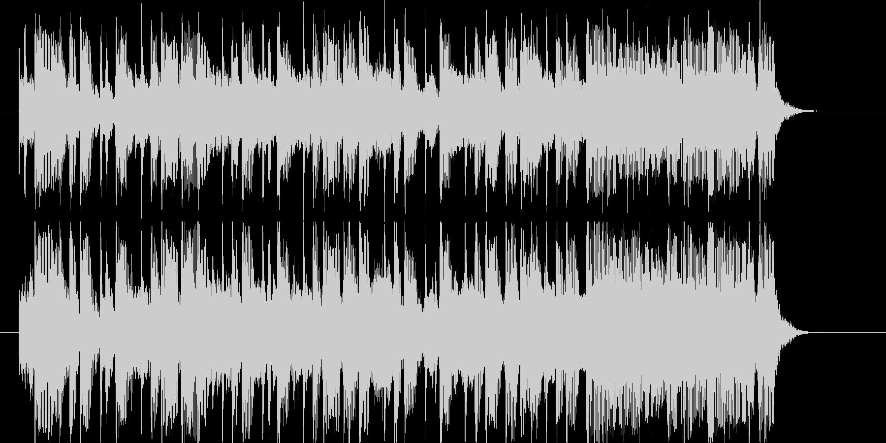 クールでポップなEDMサウンドの未再生の波形