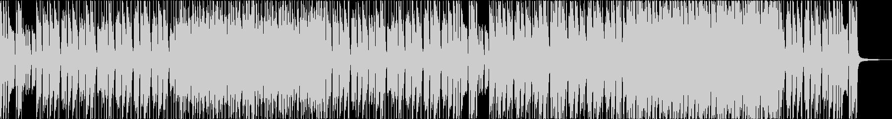 まったりゆったり系ファンクポップスの未再生の波形