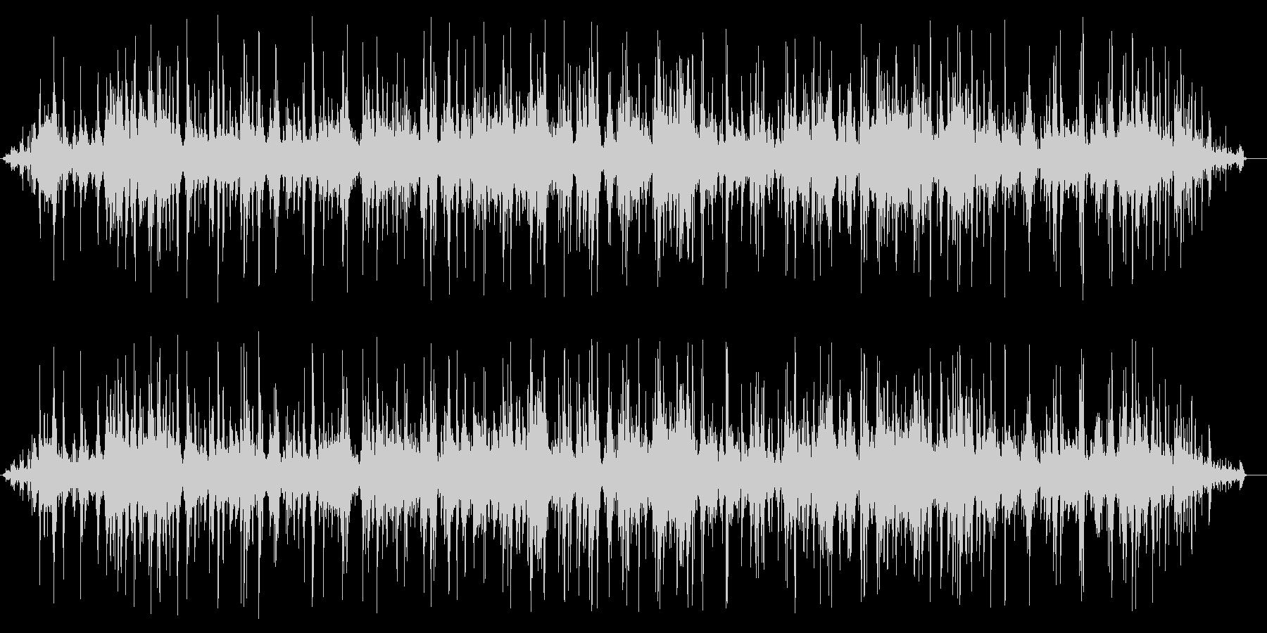 ドポドポドポ(水の音)の未再生の波形