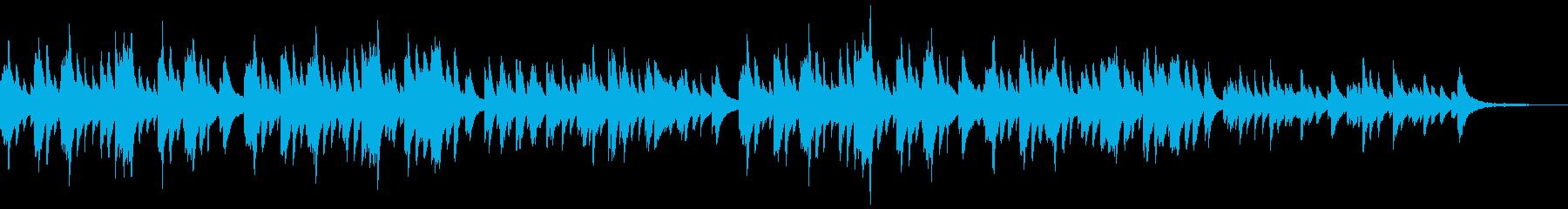 KAN_T静かなピアノバラードの再生済みの波形