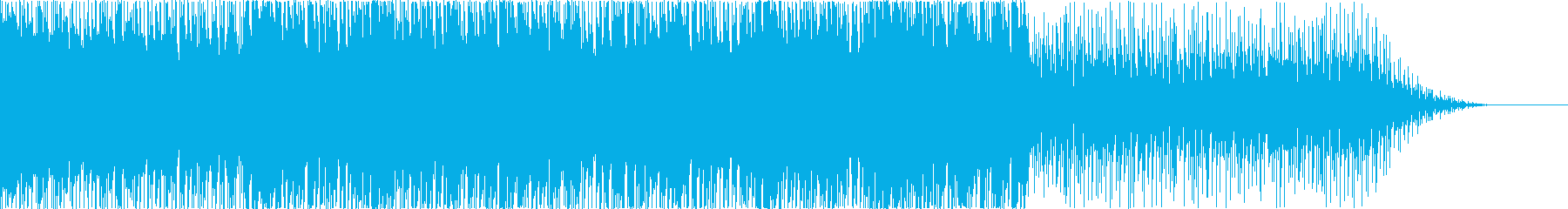 生三味線!ダンス系和風EDM、疾走感Sの再生済みの波形