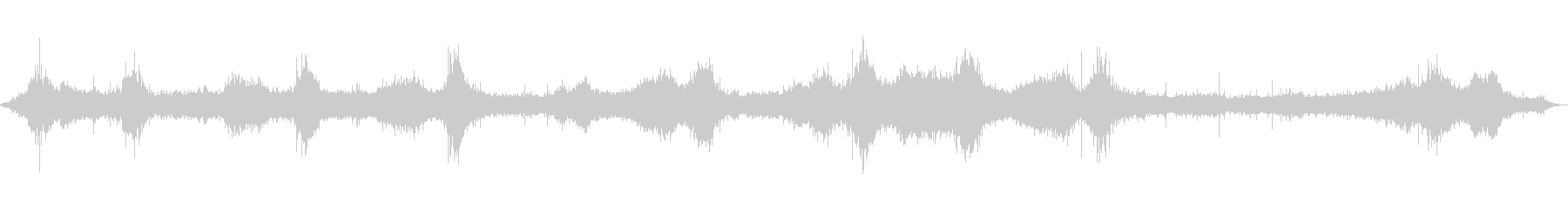 [Natural sound] Sound of wave 01 (Hachijojima)'s unreproduced waveform