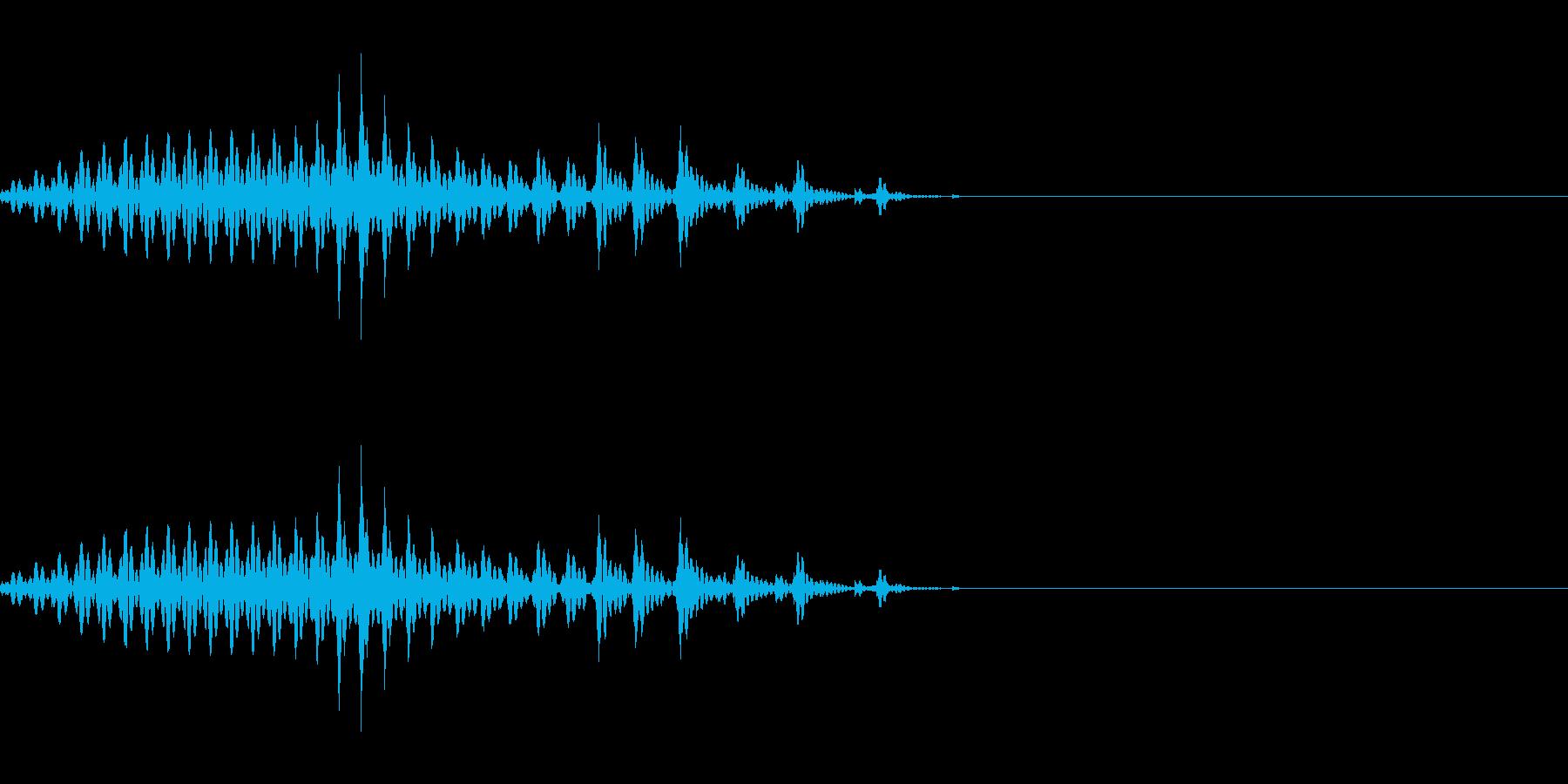 イー 一(1) 中国語(北京語) 男の再生済みの波形