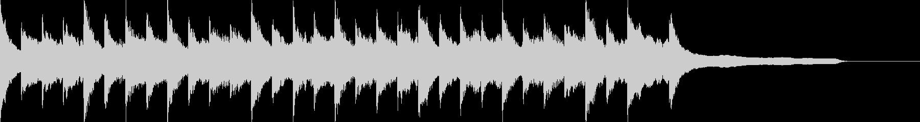 Cinematic Piano&Strings 4の未再生の波形