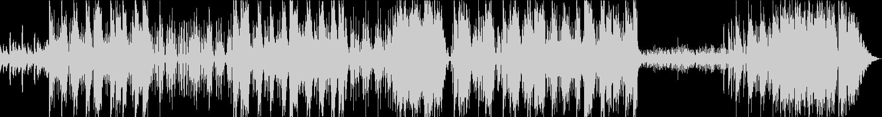 ピアノを用いたダークなシーン向のトラップの未再生の波形