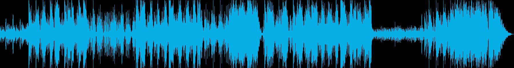 ピアノを用いたダークなシーン向のトラップの再生済みの波形