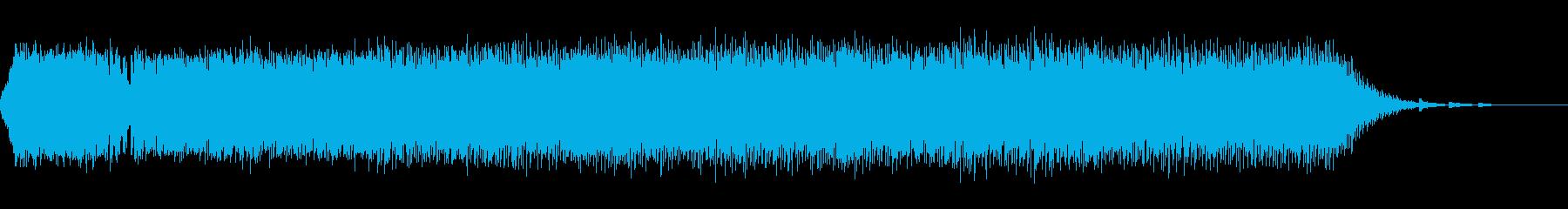 ジングルベルのダンスミュージックアレンジの再生済みの波形