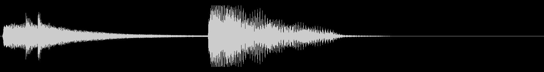 ハープによるアイキャッチの未再生の波形
