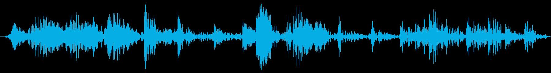 遠い壊れたコミュニケーションフラグメントの再生済みの波形