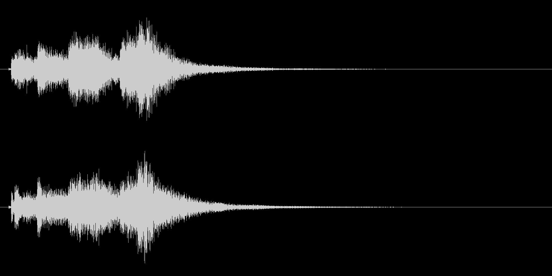 琴のフレーズ3☆調律1☆リバーブ有の未再生の波形