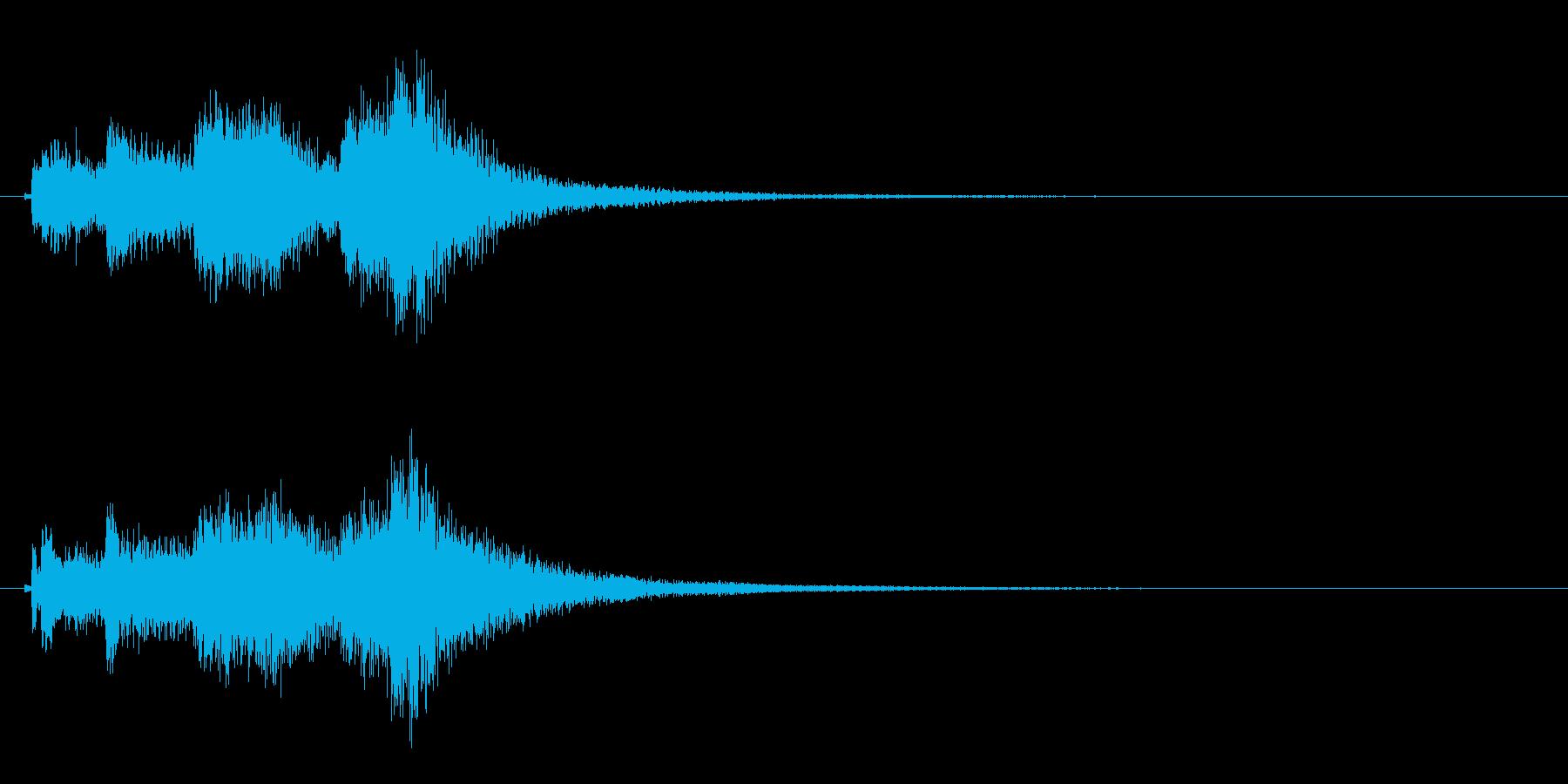 琴のフレーズ3☆調律1☆リバーブ有の再生済みの波形