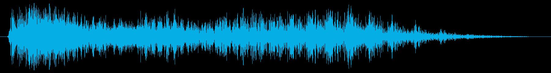 宇宙プラズマ:爆発的バーストの再生済みの波形