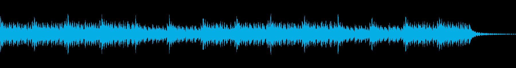朝露をイメージしたミニマルインストの再生済みの波形