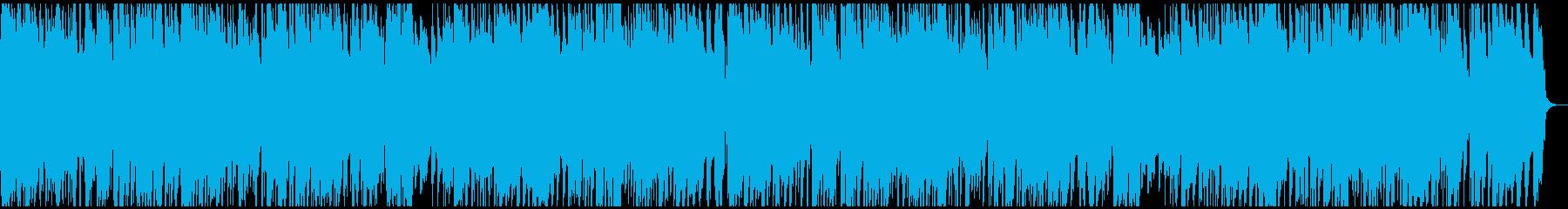 落ち着くカフェミュージック ピアノメインの再生済みの波形