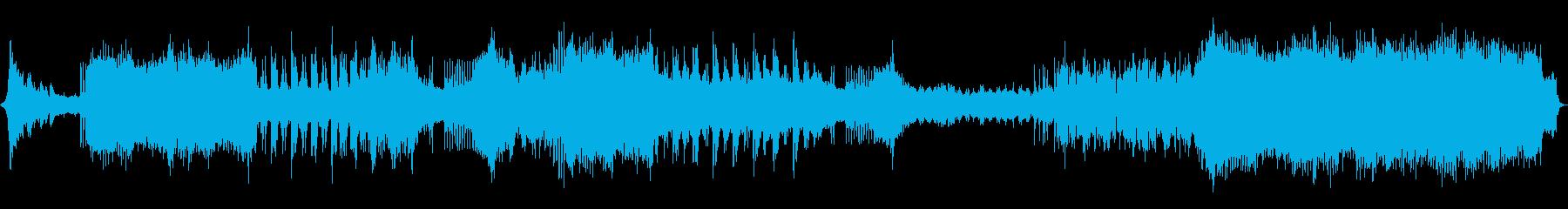 ドラマチックでカッコいいEDMの再生済みの波形