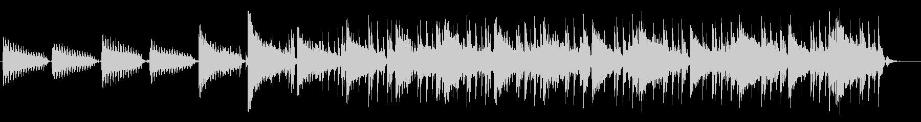古い印象のヒップホップBGM#01の未再生の波形