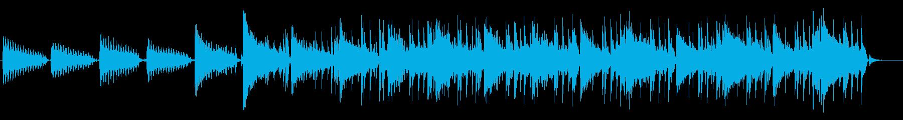 古い印象のヒップホップBGM#01の再生済みの波形