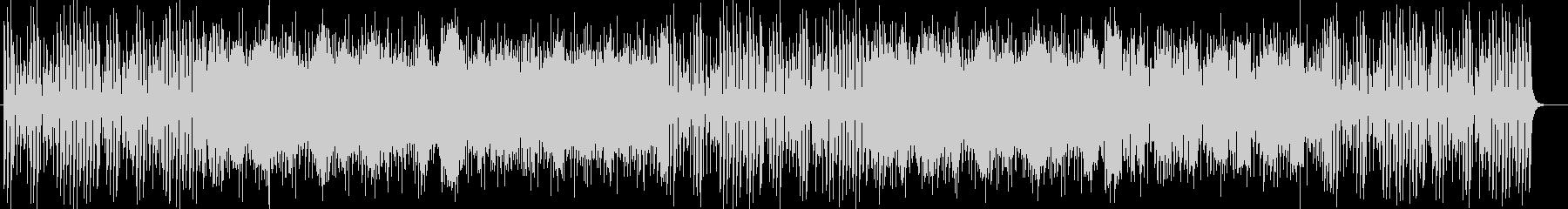ドキドキと疾走感シンセサイザーサウンドの未再生の波形