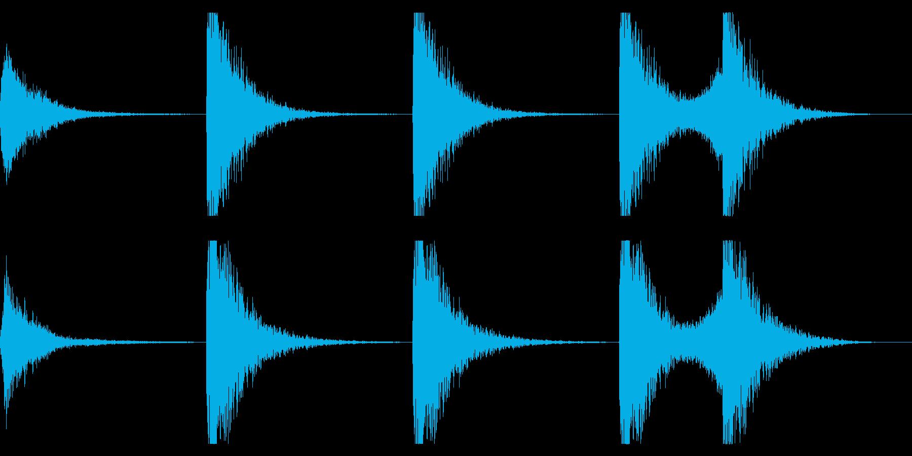 音楽、ベインステム、メタルスクレイ...の再生済みの波形