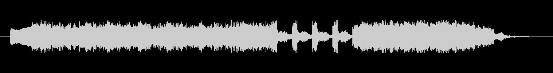 アイネクライネナハトムジーク第3ジングルの未再生の波形
