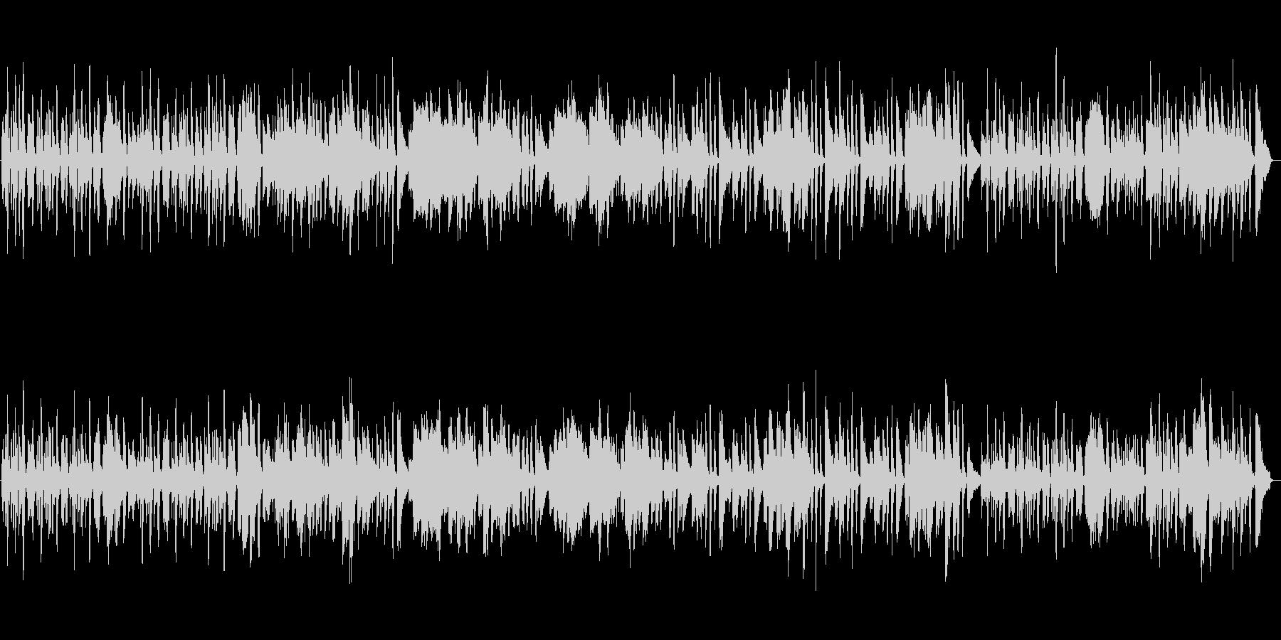 ゴセック「ガヴォット」フルート生演奏の未再生の波形