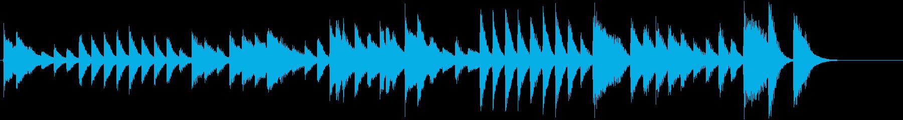 節分!鬼のパンツモチーフピアノジングルCの再生済みの波形