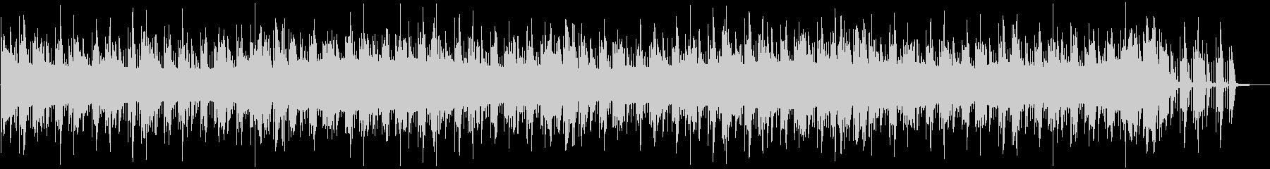 シンセとドラムンベースをフィーチャーの未再生の波形