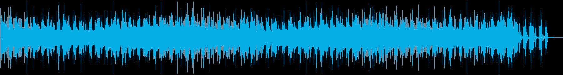 シンセとドラムンベースをフィーチャーの再生済みの波形