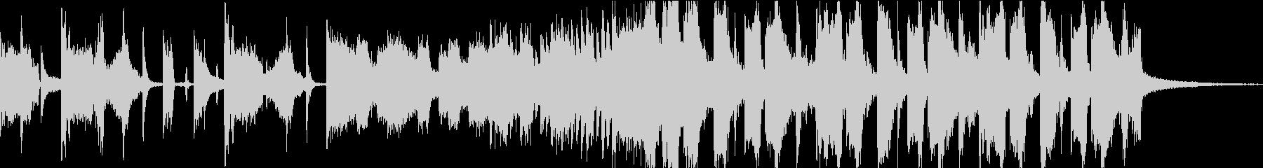 ライザップCMのパロディ_15秒verの未再生の波形