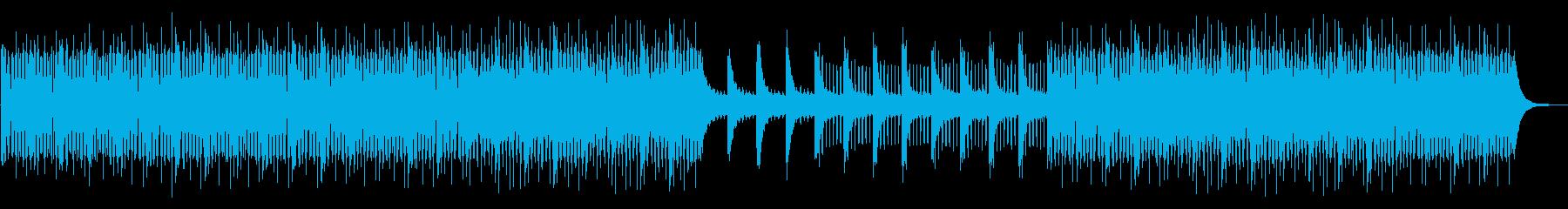 企業VP クリーン・洋楽・透明感の再生済みの波形