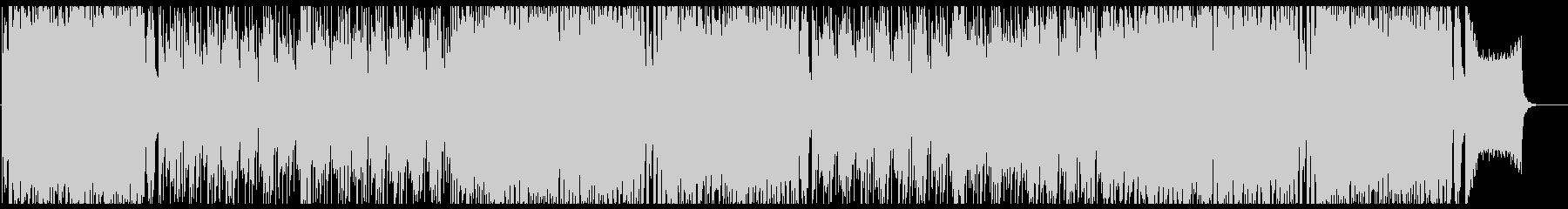 可愛らしいアニソン系ポップス フル歌の未再生の波形