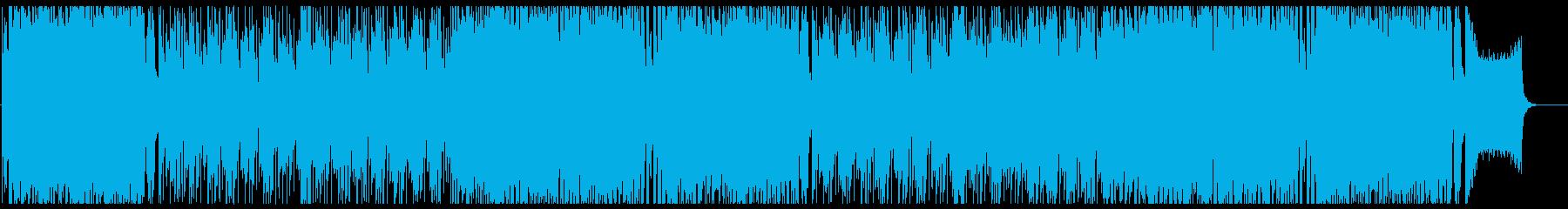 可愛らしいアニソン系ポップス フル歌の再生済みの波形